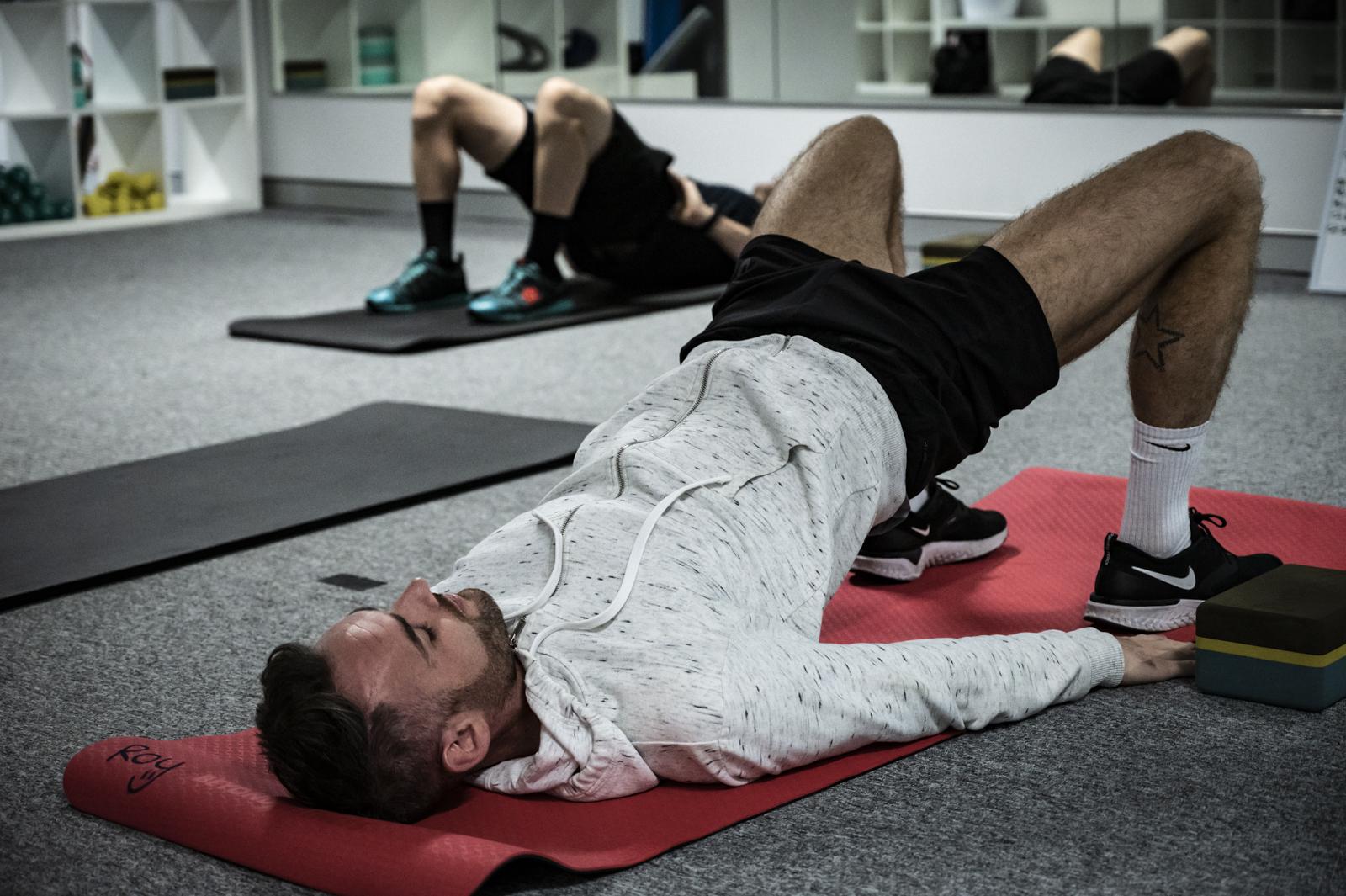 Pilates - plank