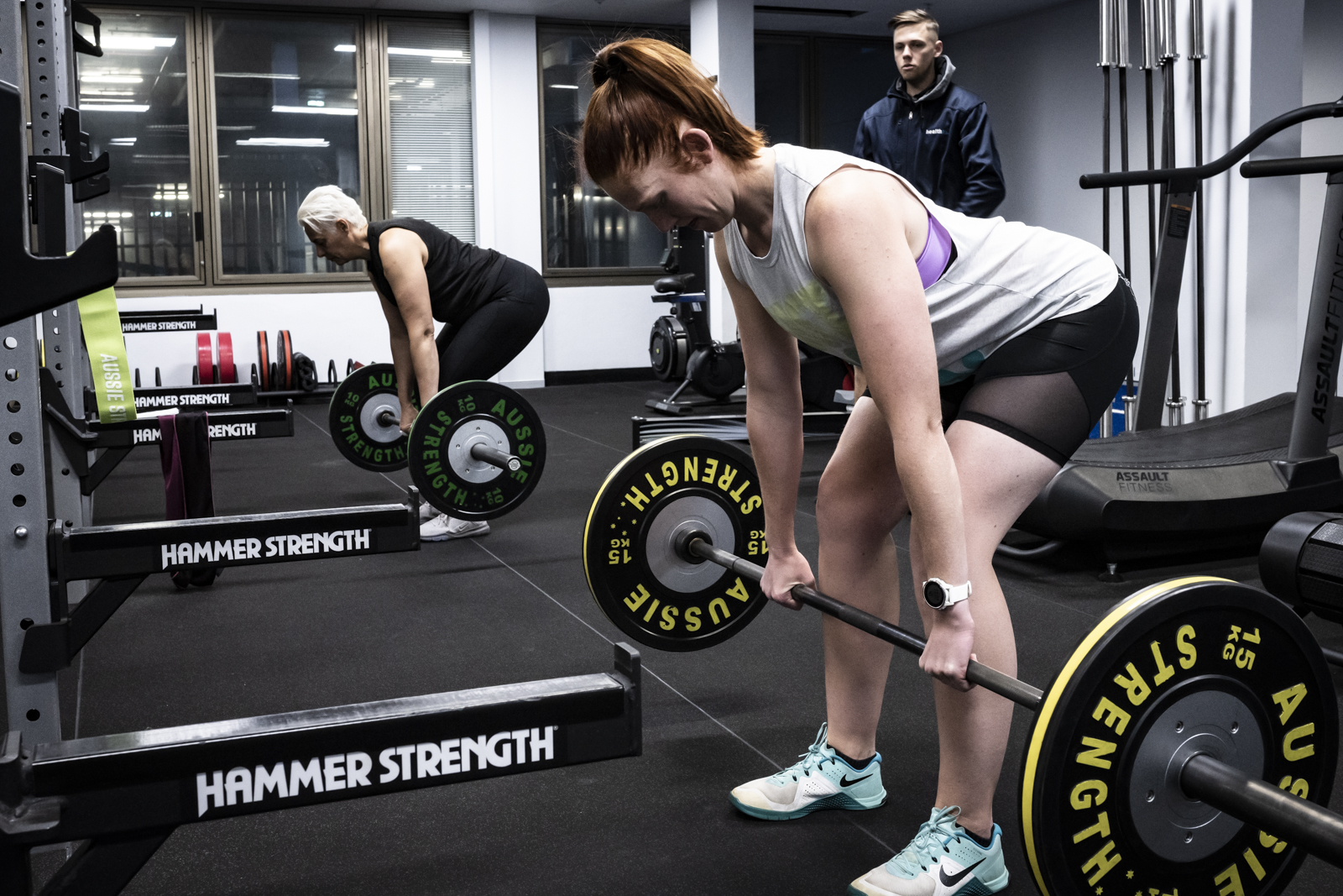 Athletic performer - barbell