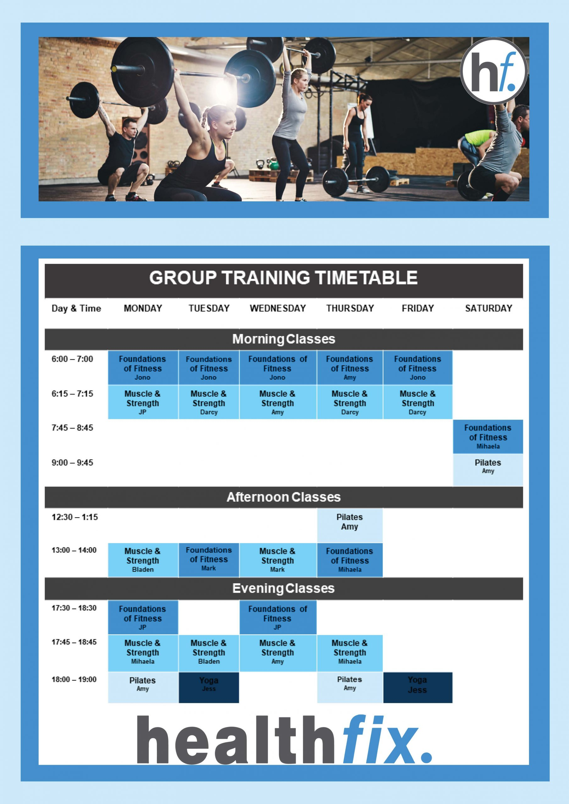 Group Training Schedule 29.03 scaled