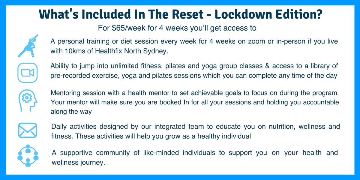 lockdown fitness banner